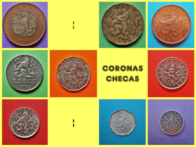 Coronas Checas Monedas