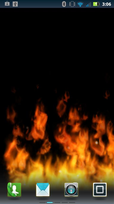 Flames Live Wallpaper- screenshot