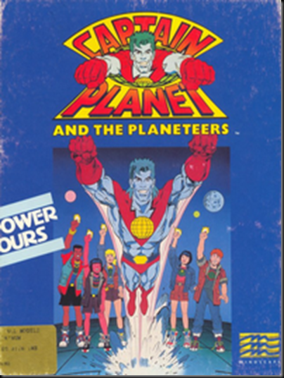 Captain planet amiga cover