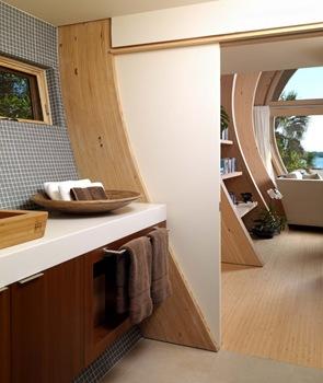 casa-de-madera-baño-moderno