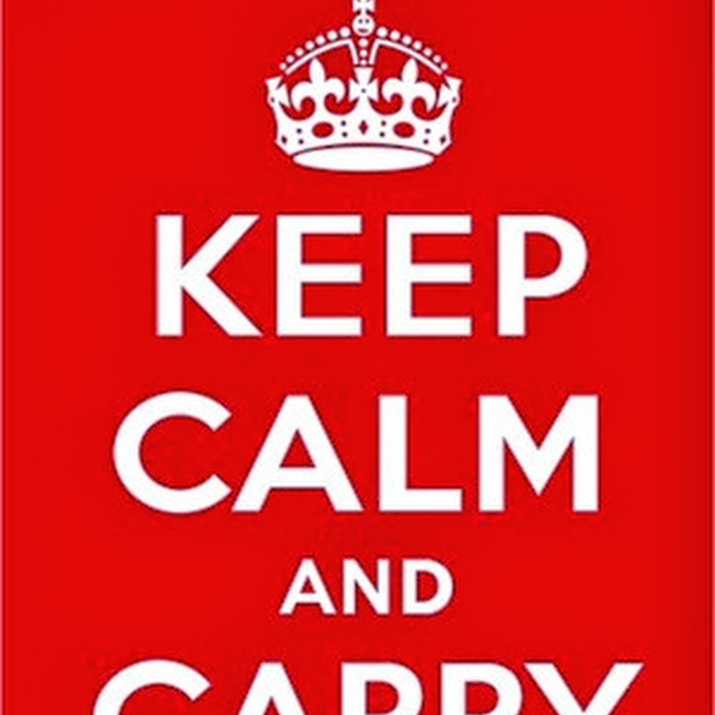La interesante historia del origen del poster de Keep Calm And Carry On