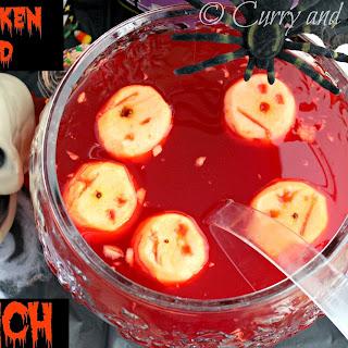 Shrunken Head Halloween Punch.