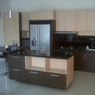 kitchenset minimalis dzahra furniture interior