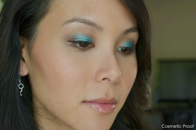 Essence Cosmetics Metal Glam Makeup Look (4)