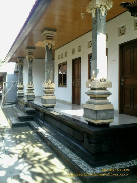 Pilar Style Bali Batu Baligreen Dan Palimanan Spesialis