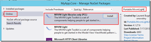 Programming The Life: Portable Class Library Projects and MVVM Light