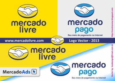 Mercado Livre Logo Nova 2013-X3