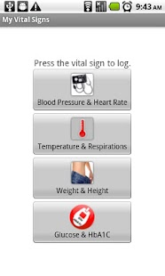 My Vital Signs - screenshot thumbnail