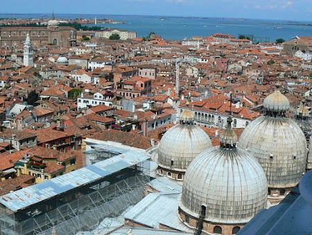 Panorama Venetia din Campanile