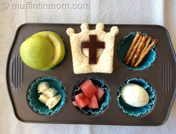 EAster Muffin TIn Meal