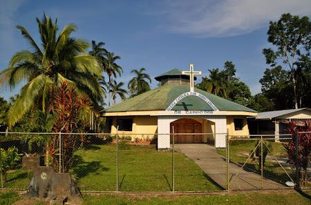 Obiective turistice Costa Rica: Biserica in Cariari