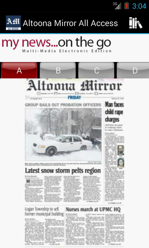 Altoona Mirror All Access - screenshot