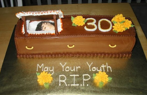 When She Was Turning 30 Her Husband Requested That I Make A Very Special Cake To Celebrate The Death Of Youth Here What Came Up With