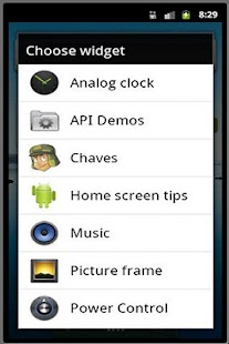 Chaves Widget- screenshot thumbnail