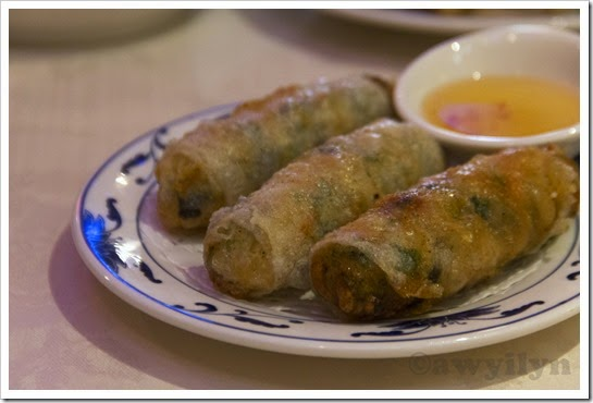Vietnamese Style Spring Roll