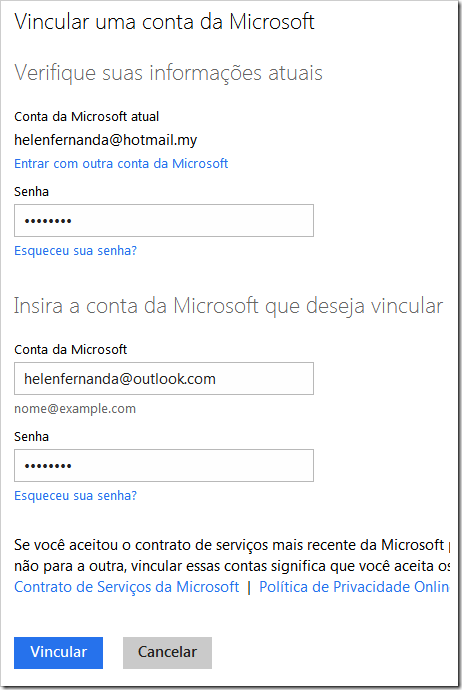 Vincular Outlook a Hotmail