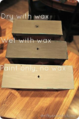 CeCe Caldwell wax