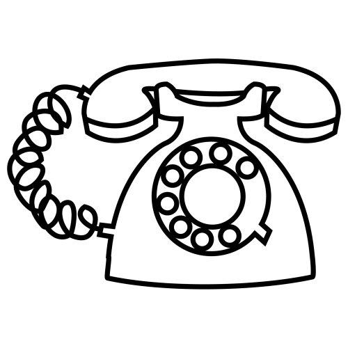Dibujos De Telefonos Para Colorear