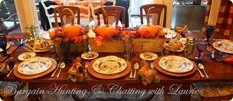 Tablescape for Fall
