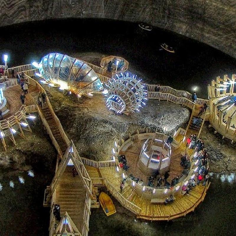 Salina Turda: An Underground Theme Park In A Salt Mine
