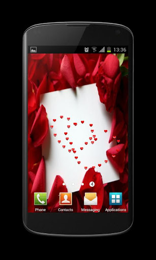 Valentines Card Live Wallpaper
