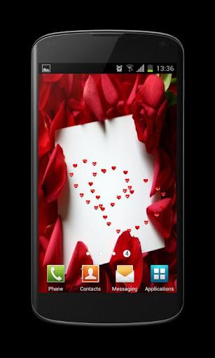 Valentines Card Live Wallpaper