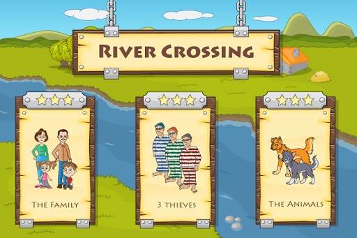 River Crossing : Logic Puzzles