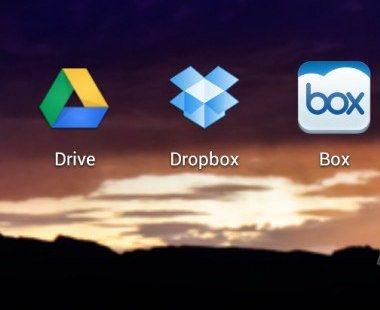 aplicaciones de almacenamiento en linea para Android gratis