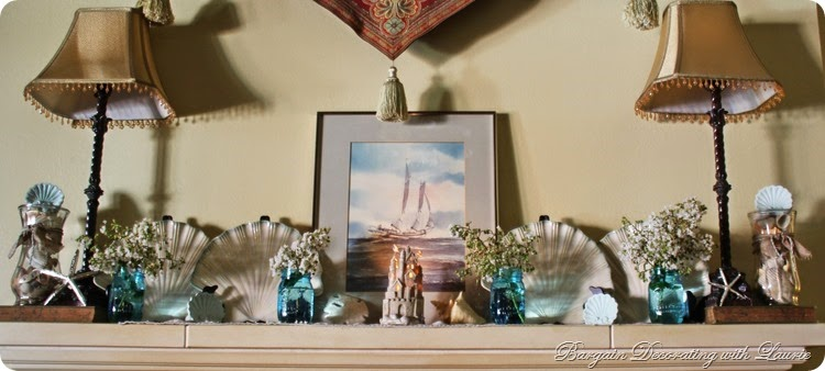 Beach Themed Mantel 8