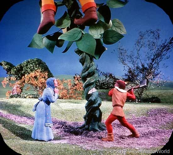 View-Master Three Fairy Tales featuring Jack and the Beanstalk (B314), Scene 6