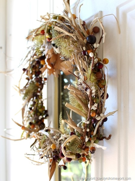 Stash Buster Fall Wreath via homework (6)
