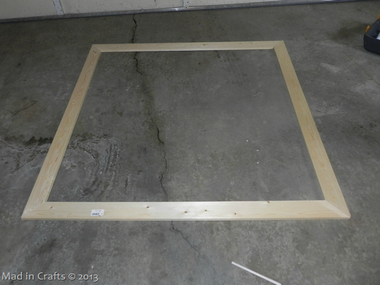 basic headboard frame