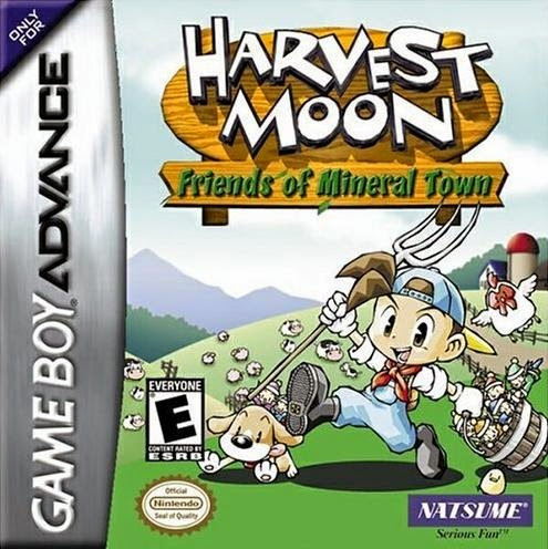 cheat harvest moon friends of mineral town / fomt gba