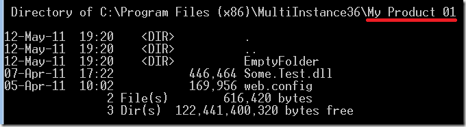Revisited: Multiple Instance installations and patches -  NET