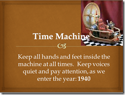 Time Machine Power Point Presentation about the Year 1940 - FREE