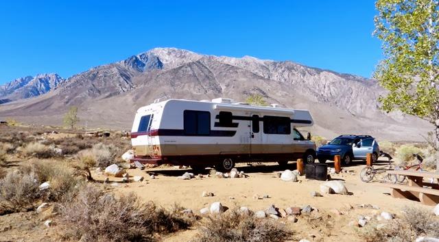 Life's Little Adventures: Horton Creek Campground, Bishop, CA