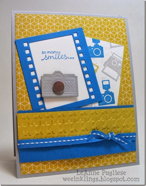 LeAnne Pugliese WeeInklings Stampin Up Around the World