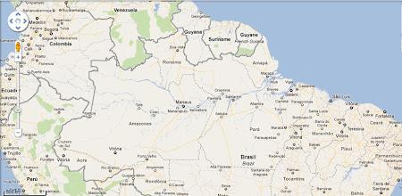 Harta zona Amazon - Amazonia.JPG