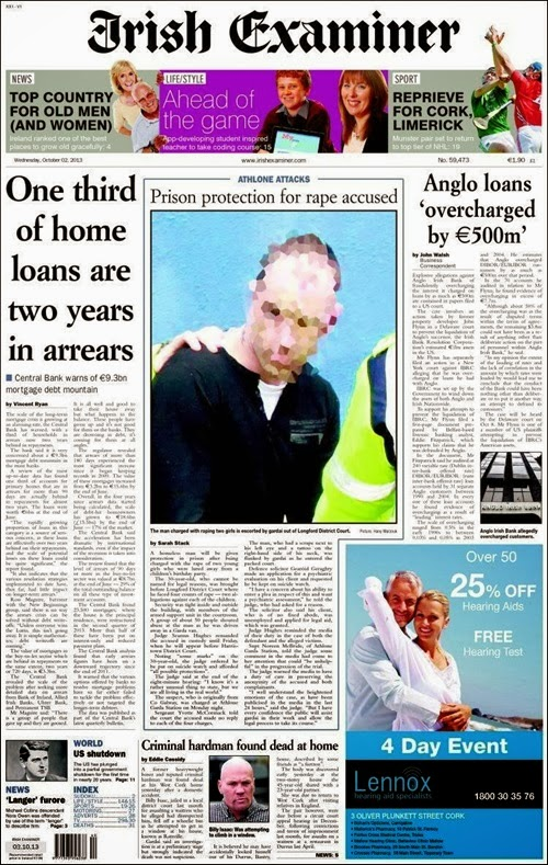 Irish examiner 02-10-13