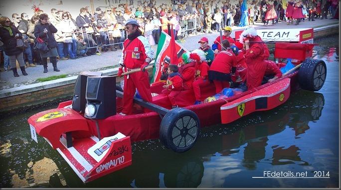 Carnevale sull'acqua 2014 a Comacchio, foto1