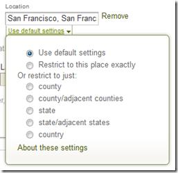 祖先.com advanced search form Location filters