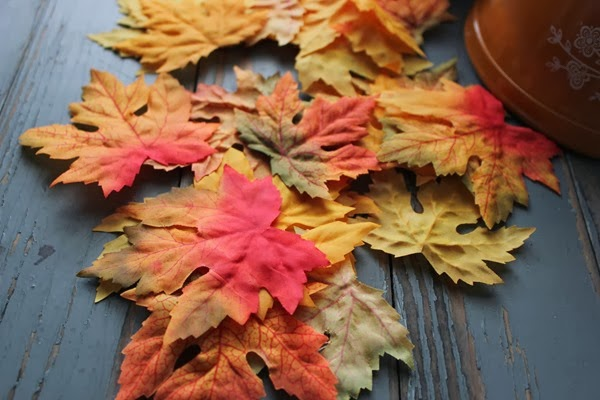 DIY Fall Leaf Bowl, Fall Decor, Fall Craft