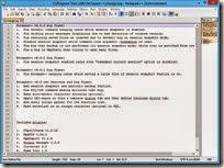 برنامج تحرير النصوص Notepad فيرجن 6.6.4 سكرين شوت