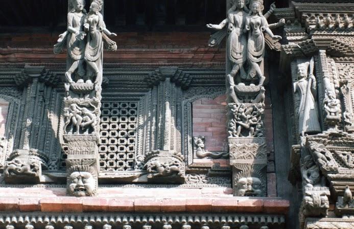 Imagini Nepal: stucaturi temple Kathmandu