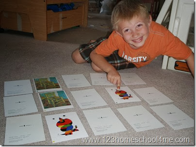 Child Size Masterpieces Famous Artist Study for Preschool and Kindergarten