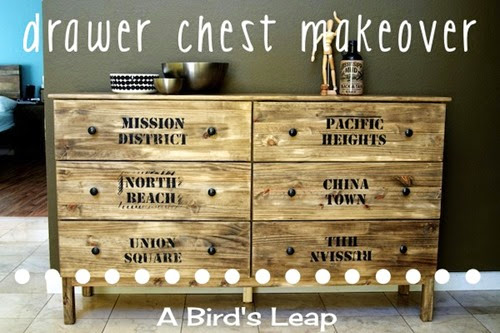 Title DIY IKEA Drawer chest modification San Francisco 2