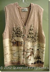 Beautiful Xmas vest