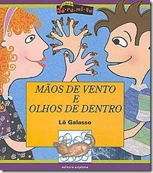 Capa do livro Mãos de Vento e Olhos de Dentro
