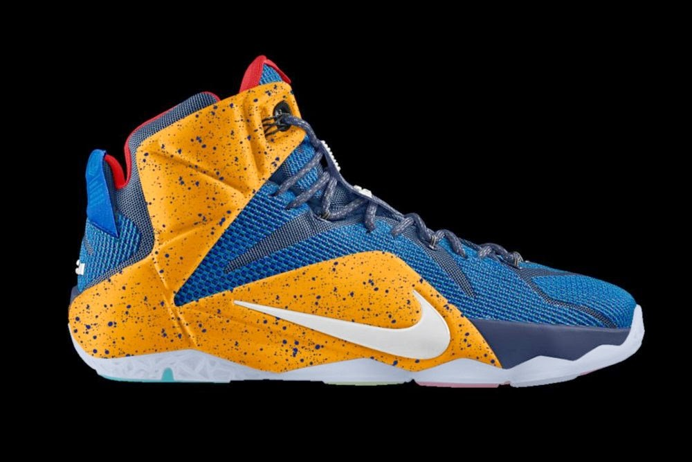 ... You Can Almost Create Nike LeBron 12 Homecoming PEs on Nike iD ... 718d3a7c7f19