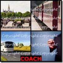 COACH- 4 Pics 1 Word Answers 3 Letters